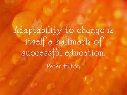 Adaptability...